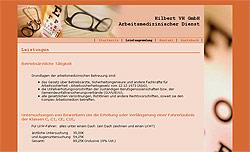 Screenshoot von www.arbeitsmedizin-vogtland.de