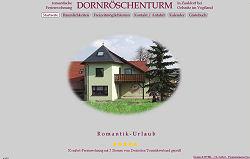 Screenshoot von www.dornroeschen.rapunzelturm.de