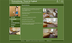 Screenshoot von www.ferienwohnung-treuen.de