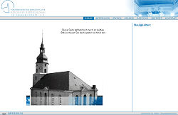 Screenshoot von www.foevekirche-treuen.de