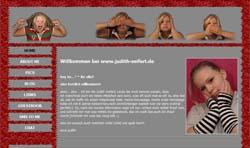 Screenshoot von www.judith-seifert.de