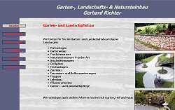 Screenshoot von www.natursteinbau-richter.de