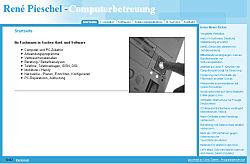 Screenshoot von www.pieschel.de