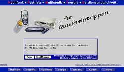 Screenshoot von www.ronny-burkhardt.de