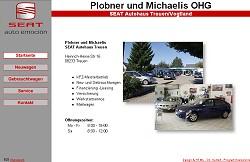 Screenshoot von www.seat-treuen.de